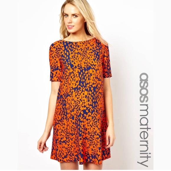 d966e77e032 ASOS Dresses   Skirts - ASOS maternity shift dress in animal print